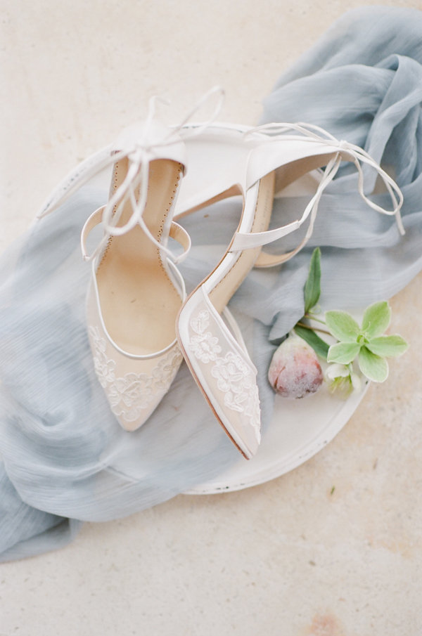 Bella Belle Wedding Shoes | Romantic Day After Wedding Inspiration In Provence by Tamara Gruner Photography