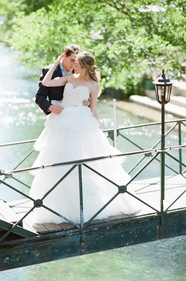 Stunning Wedding Dress | Romantic Day After Wedding Inspiration In Provence by Tamara Gruner Photography