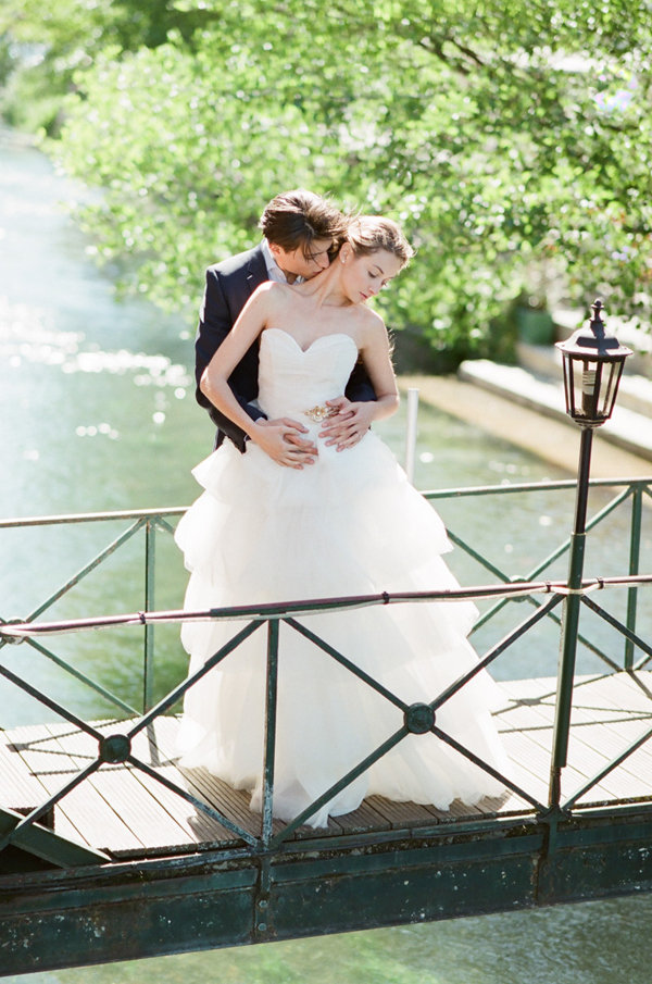 Bride and Groom Portrait Idea | Romantic Day After Wedding Inspiration In Provence by Tamara Gruner Photography