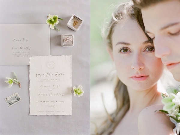 Calligraphy Wedding Invitations | Romantic Day After Wedding Inspiration In Provence by Tamara Gruner Photography