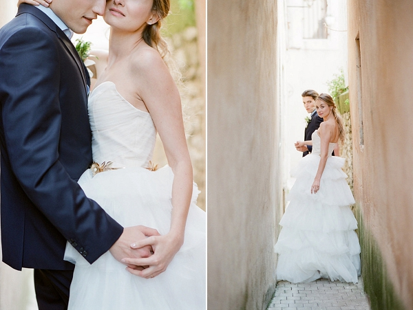 Stunning Bride and Groom Portraits | Romantic Day After Wedding Inspiration In Provence by Tamara Gruner Photography