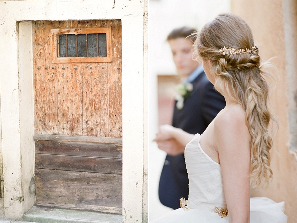 Elegant Bridal Hairstyle Idea | Romantic Day After Wedding Inspiration In Provence by Tamara Gruner Photography