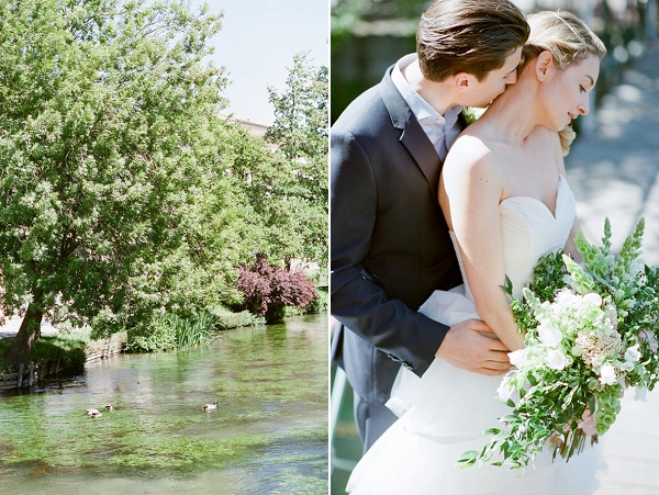 Bride and Groom Portrait | Romantic Day After Wedding Inspiration In Provence by Tamara Gruner Photography