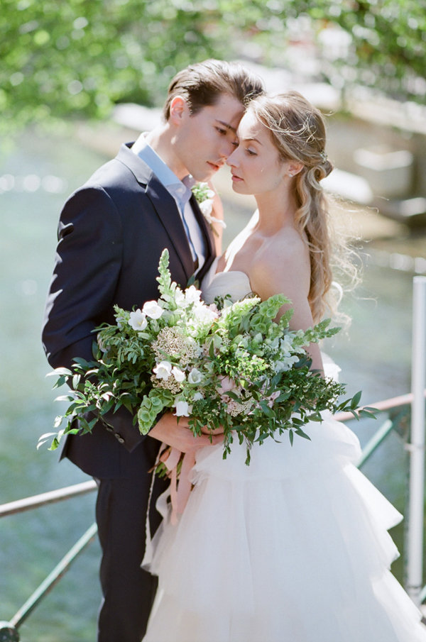 Lush Bouquet | Romantic Day After Wedding Inspiration In Provence by Tamara Gruner Photography
