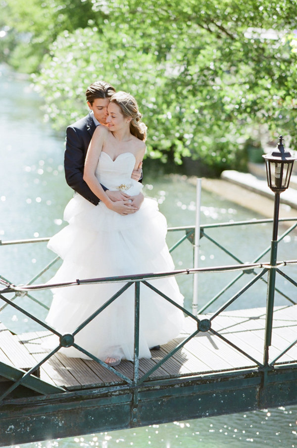 Bride and Groom in France | Romantic Day After Wedding Inspiration In Provence by Tamara Gruner Photography