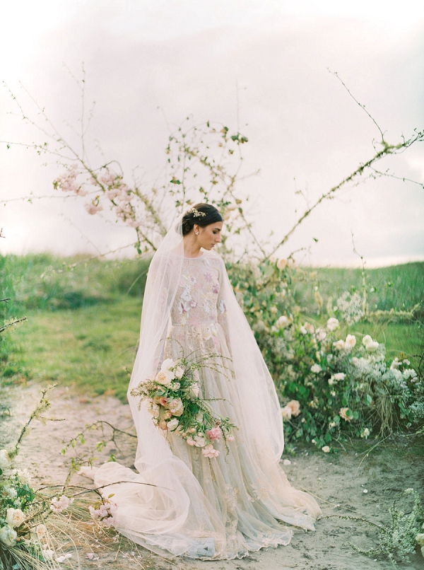 Bride | Romantic Wedding Inspiration on the Oregon Coast from Cassie Valente Photography