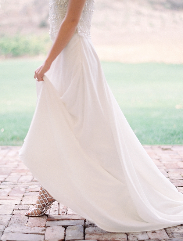 Wedding Dress Top and Skirt | Triunfo Creek Editorial by Christine Doneé Photography