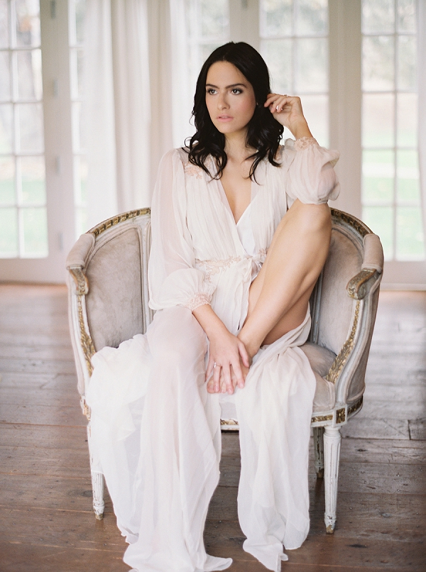 Bridal Robe | Triunfo Creek Editorial by Christine Doneé Photography