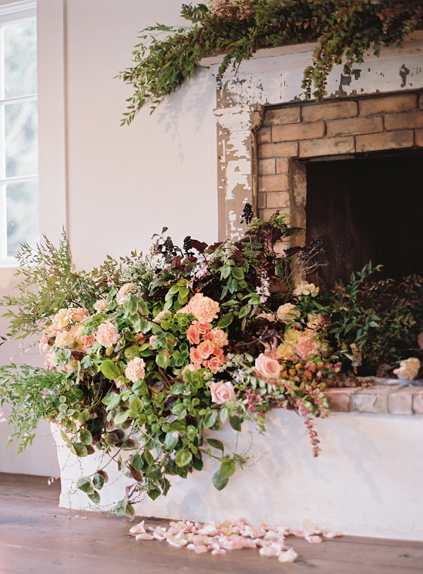 Overflowing Florals | Triunfo Creek Editorial by Christine Doneé Photography