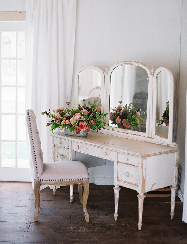 Bride's Dressing Table | Triunfo Creek Editorial by Christine Doneé Photography