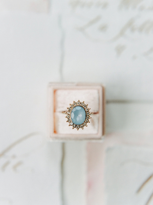 Vintage Wedding Ring | Tropical Elopement Inspiration by Steve Torres Photography