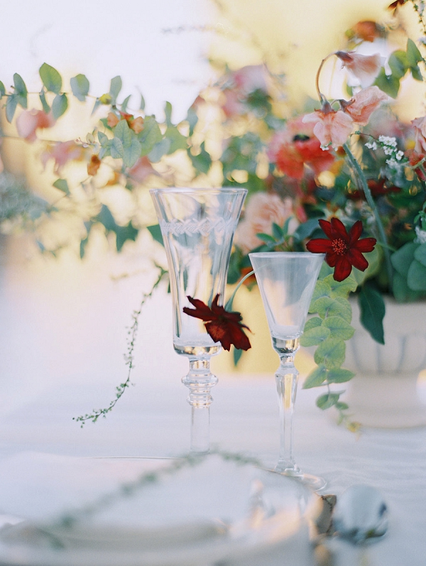Beeautiful Glassware | Palace of The Fine Arts Elopement Ideas by Ivory & Vine Event Co. and Stephanie Brazzle Photography