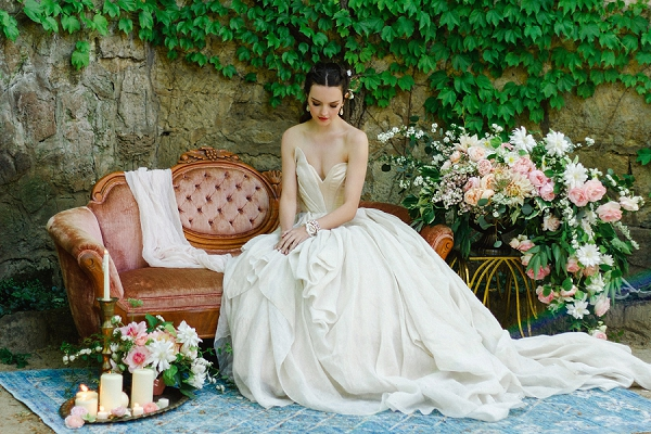 Bridal Portrait | Romantic Whetstone Winery Editorial By © Justina Bilodeau Photography