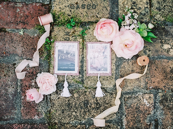 Wedding Stationery | Romantic Whetstone Winery Editorial By © Justina Bilodeau Photography