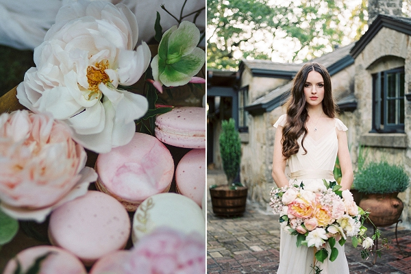 Loose Bridal Hair | Romantic Whetstone Winery Editorial By © Justina Bilodeau Photography