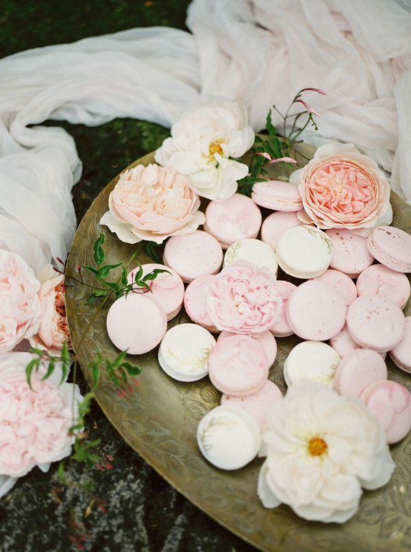 Macarons | Romantic Whetstone Winery Editorial By © Justina Bilodeau Photography