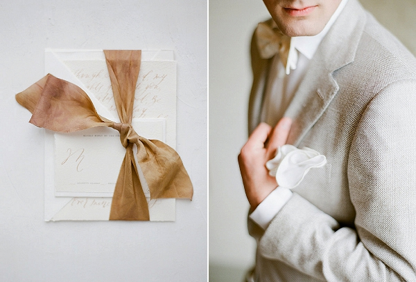 Groom's Attire | Springtime In Paris Wedding Inspiration by Anna Grinets Photography