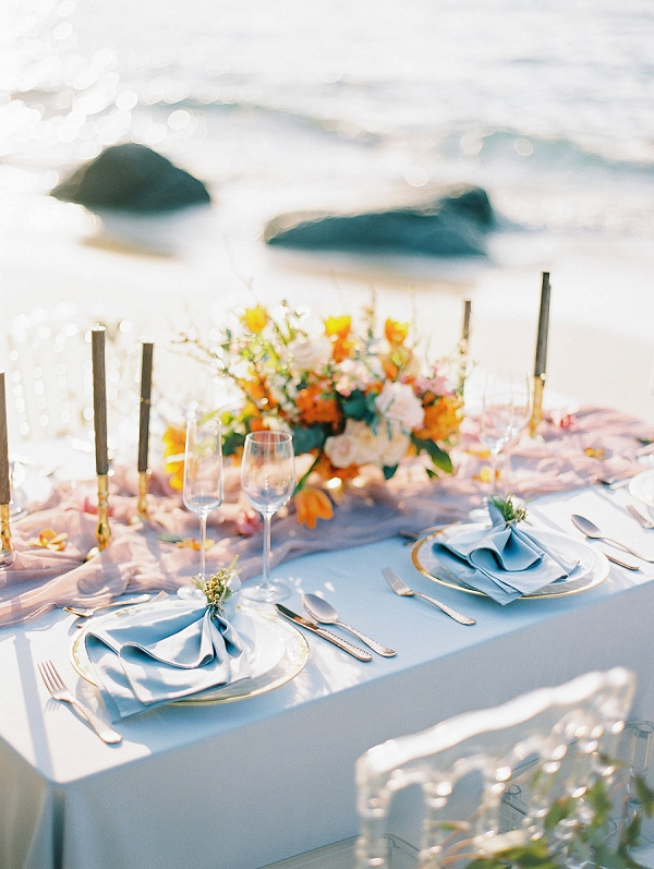 Tropical Beach Wedding | Tropical Elopement Inspiration by Steve Torres Photography