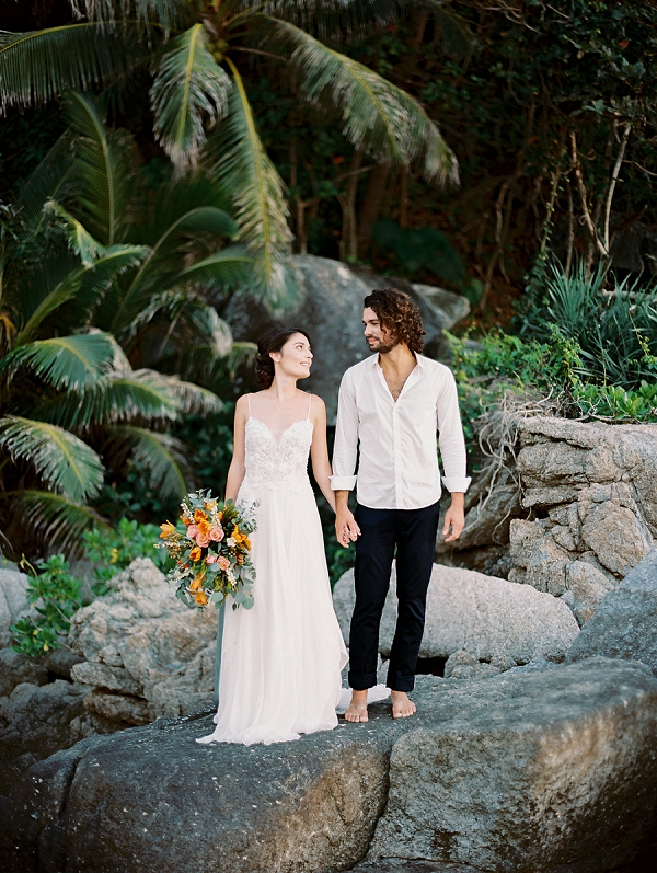 Thailand Destination Wedding | Tropical Elopement Inspiration by Steve Torres Photography