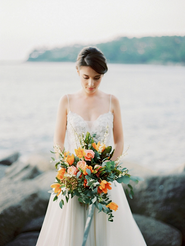 Tropical Bouquet in Thailand | Tropical Elopement Inspiration by Steve Torres Photography