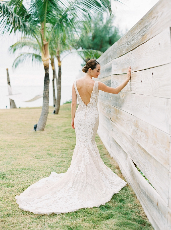 Pronovias Wedding Gown | Glamorous Wedding Weekend in the Bahamas by Hunter Ryan Photography