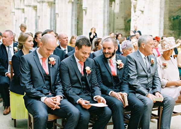 Groomsmen | Intimate and Romantic Tuscany Destination Wedding by Kir & Ira Photography