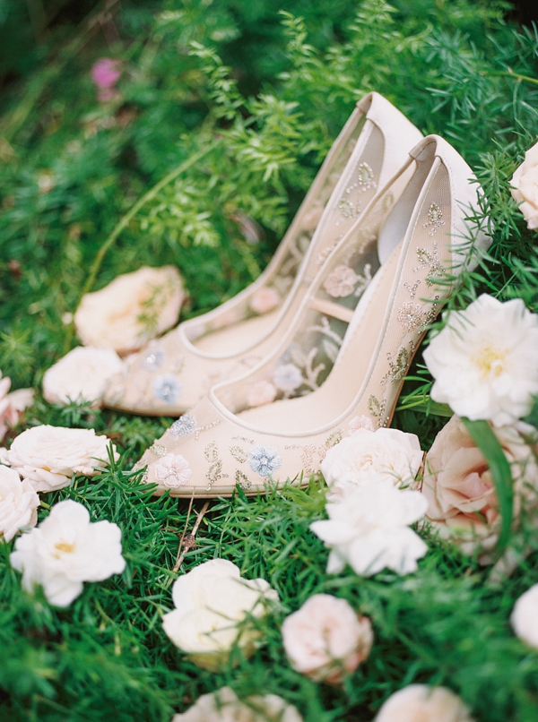 Bridal Shoes | Maui Boudoir and Bridal Inspiration from Matoli Keely Photography