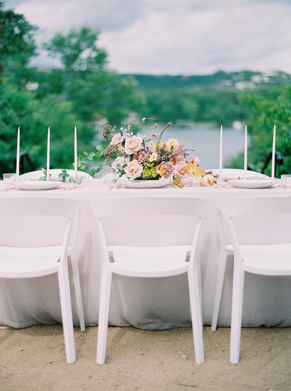 Spring Tablescape | Modern Chic Garden Wedding Inspiration by Jenna McElroy Photography