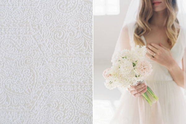 Bridal Bouquet   Modern Minimalism for a Morning Wedding by Maria Lamb Photography