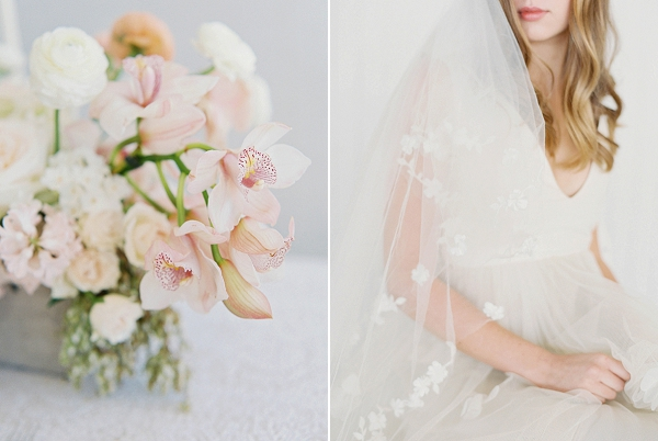 Centerpiece   Modern Minimalism for a Morning Wedding by Maria Lamb Photography