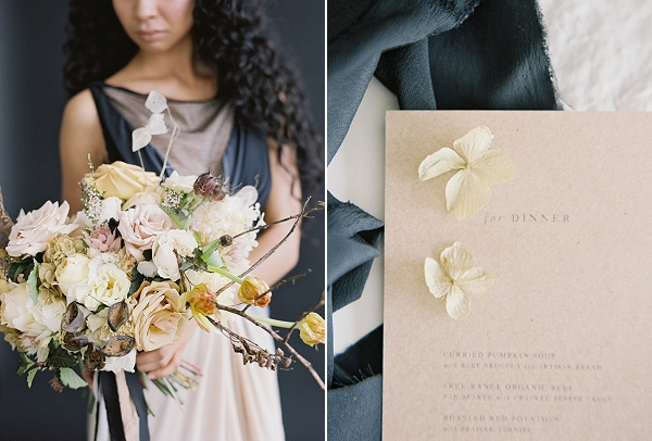 Lush Bouquet | Art Inspired Bridal Inspiration By Sara Weir Photography