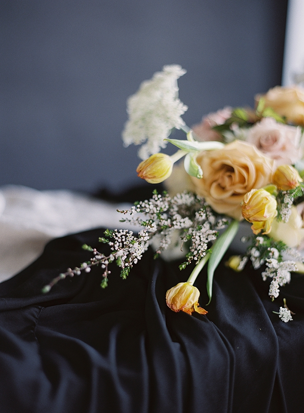 Floral Centerpiece | Art Inspired Bridal Inspiration By Sara Weir Photography