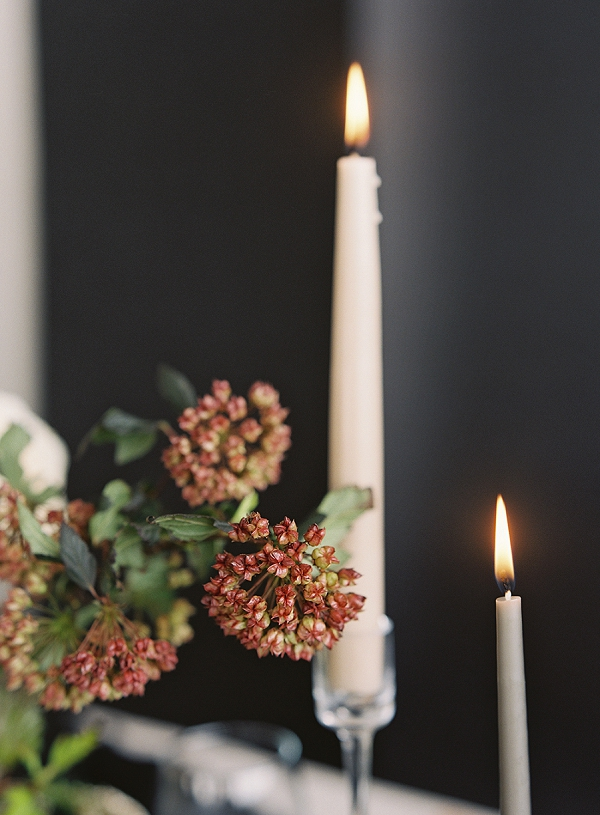 Candles | Art Inspired Bridal Inspiration By Sara Weir Photography