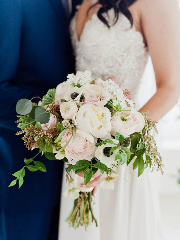 Bouquet | Chic Art Deco Miami Wedding By Merari Photography