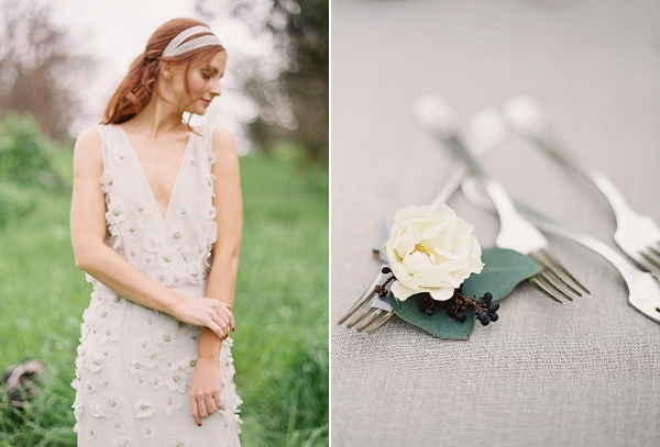Bride   Romantic Floral Wedding Inspiration By Sara Weir Photography