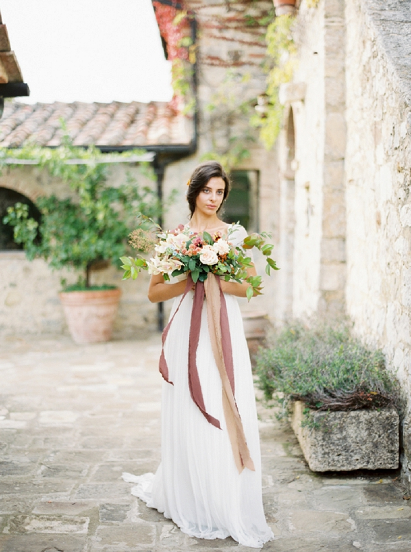 Bride | Tuscany Wedding Inspiration by Rebecca Hollis Photography