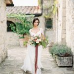 Bride in Italy | Tuscany Wedding Inspiration by Rebecca Hollis Photography