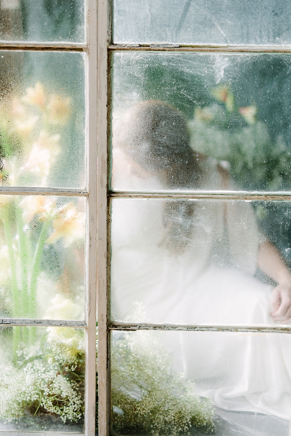 Bride | Ethereal Greenhouse Wedding Inspiration from Brushfire Photography