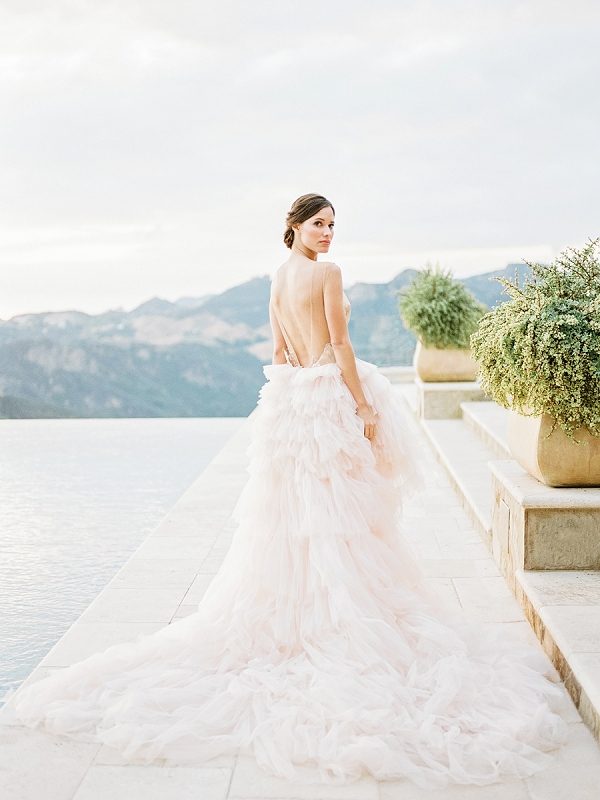 Ballerina Bride | Romantic Bridal Ballerina Inspiration In Malibu by Babsie Ly Photography