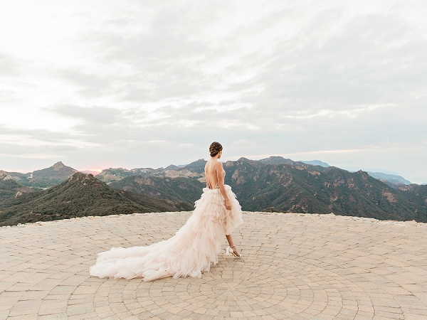 Scenic View | Romantic Bridal Ballerina Inspiration In Malibu by Babsie Ly Photography