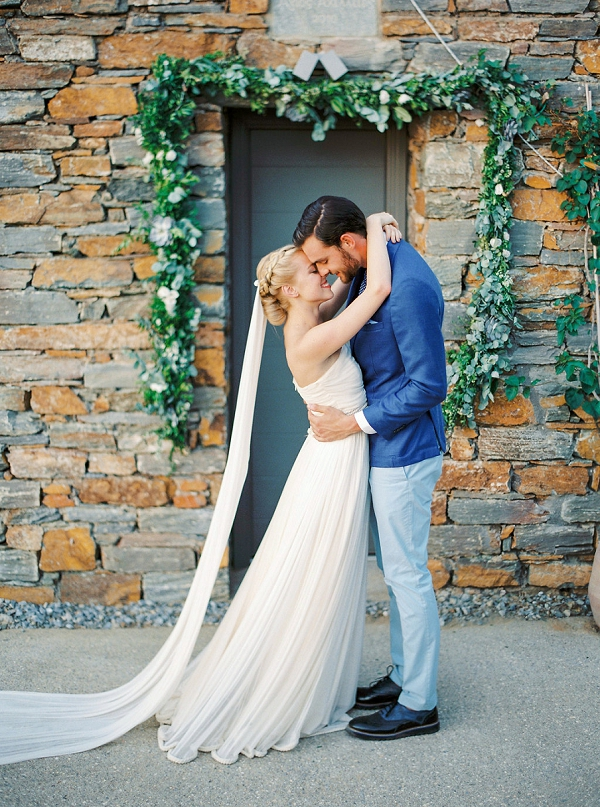 Groom in Blue | Seaside Elopement Inspiration by Darya Kamalova of Thecablookfotolab