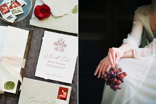 Stationery Details | Jenzel Velo Photography from the Sylvie Gil Workshop in France