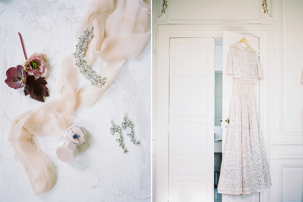 Bridal Jewelry and Wedding Dress | Jenzel Velo Photography from the Sylvie Gil Workshop in France