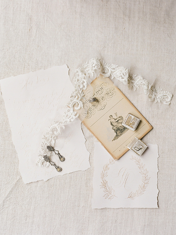 Bridal Jewelry | Lost In Spain Wedding Editorial with Elisabeth Van Lent Photography