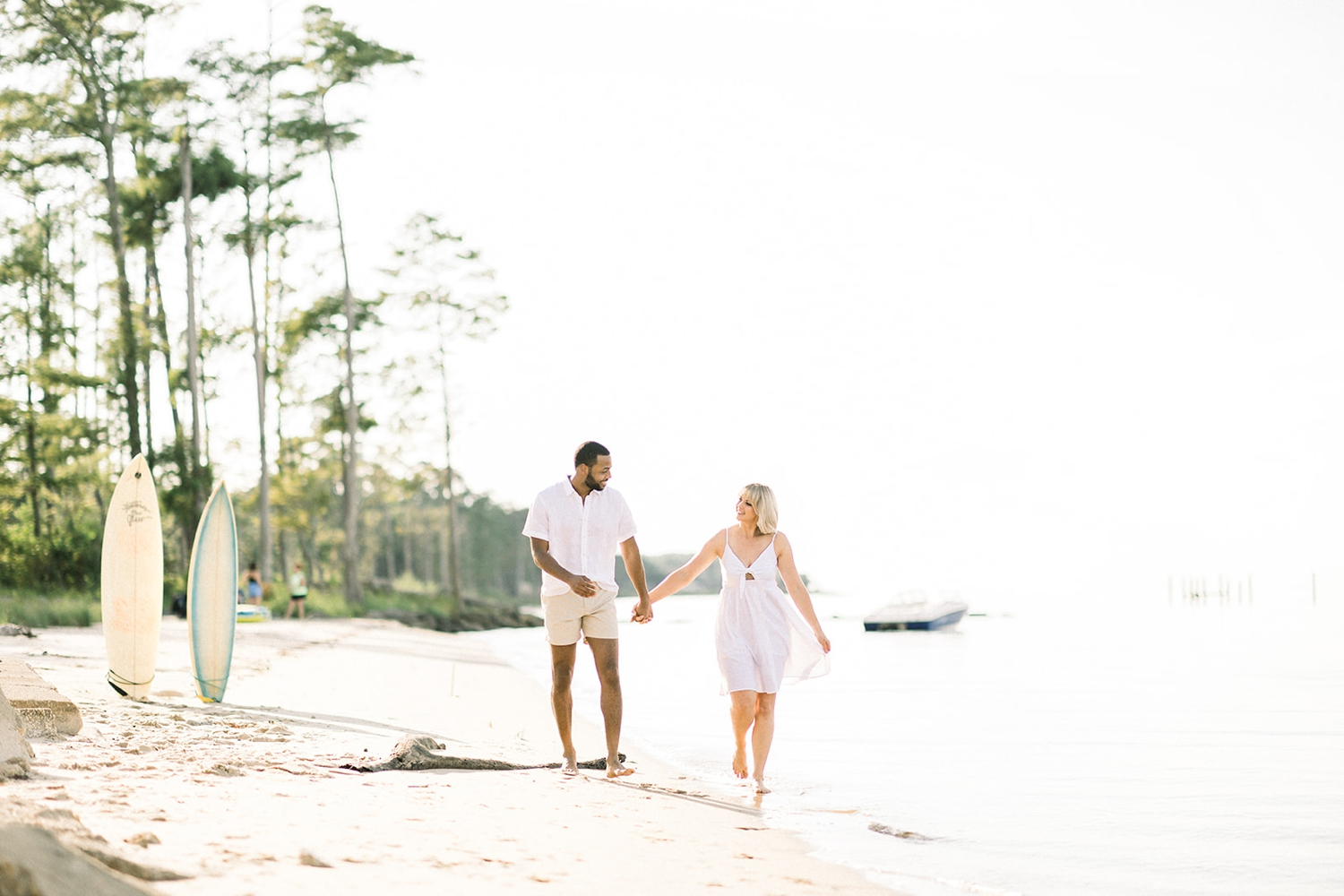 Sunsets and Surfboards Engagement Session